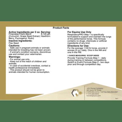 RespiratoryPRO Step 1