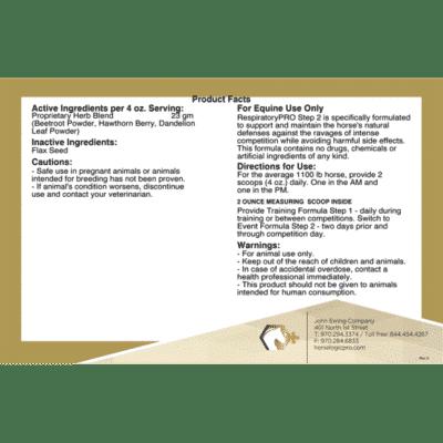 RespiratoryPRO Step 2