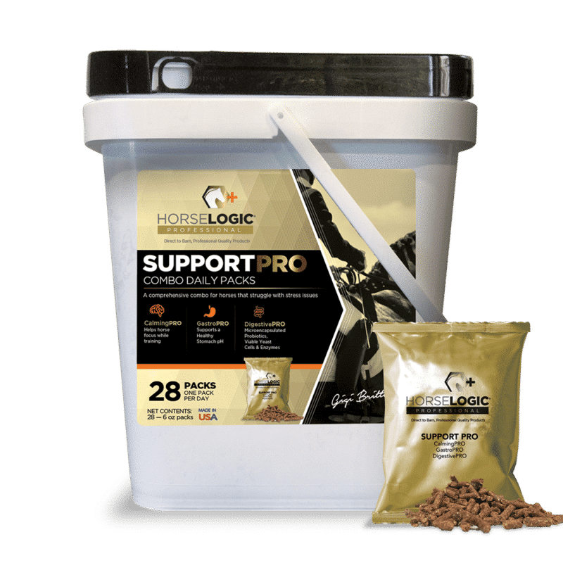 SupportPRO bucket with golden daily pack in front