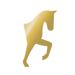 golden horse icon