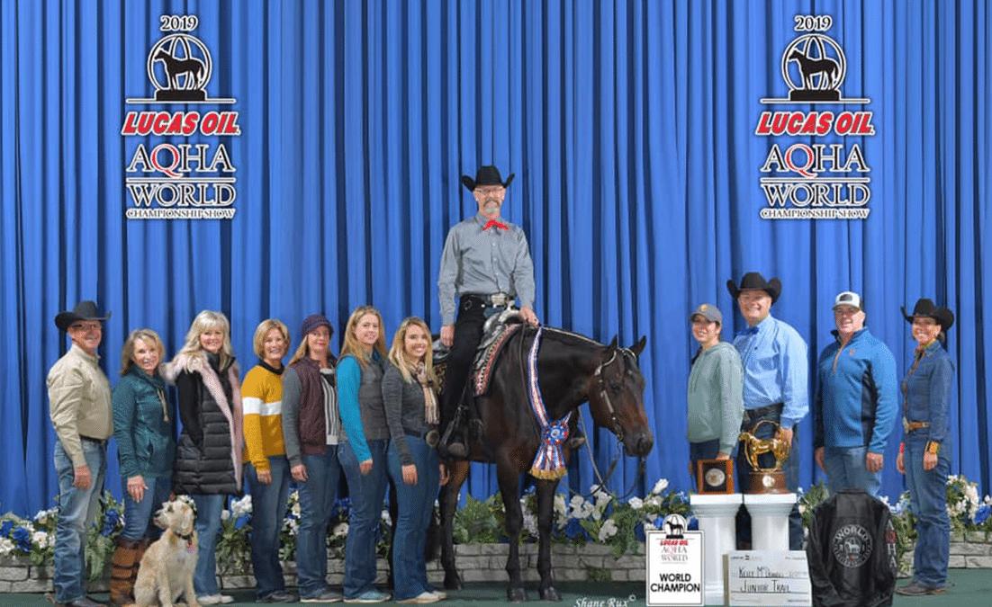 AQHA World show 2019 championship photo